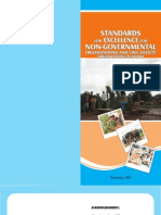 Standards for Excellence for Non Governmental Organisations and Civil Society Organisations in Ghana