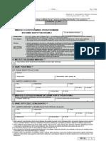 PIT-16 Wniosek o zastosowanie opodatkowania w formie karty podatkowej