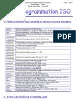 Cours de programmation ISO