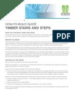 Building Timber Steps