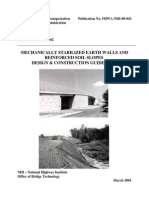FHWA-NHI-00-043 - Mechanically Stabilized Earth Walls and Reinforced Soil Slopes Design and Construction Guidelines