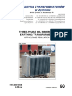 Earthing Transformers