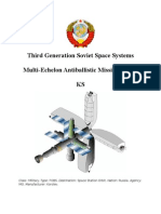 Third Generation Soviet Space Systems - Multi-Echelon Antiballistic Missile System - KS