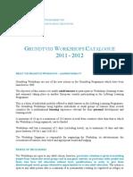 Catalogue 11 en Grundtvig