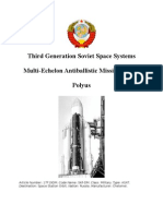 Third Generation Soviet Space Systems - Multi-Echelon Antiballistic Missile System - Polyus
