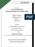 Bank Marketing -Hdfc