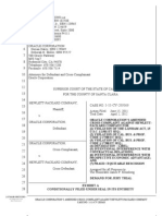 HP v Oracle - Amended Cross Complaint