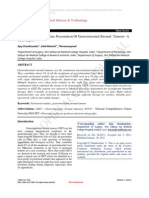 Peritoneal Nodules, A Rare Presentation Of Gastrointestinal Stromal  Tumour– A Case Report