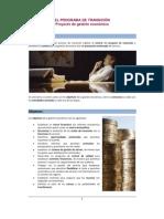 Proyecto de Gestión Económica