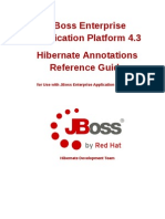 JBoss Enterprise Application Platform-4.3-Hibernate Annotations Reference Guide-En-US