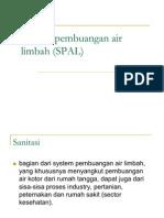 Saluran Pembuangan Air Limbah (SPAL)