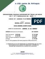 CORPORACIÓN CLUB CANINO DE ANTIOQUIA