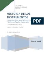 Historia de Los Instrumentos