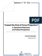 Toward the end of force projection? II. Operational responses and political perspectives