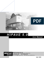 HIPAVE User Manual