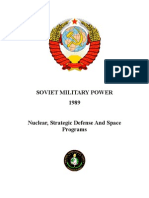 Soviet Military Power 1989 - Nuclear Strategic Defense And Space Programs