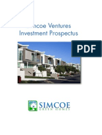 Simcoe Green Homes Investment Prospectus