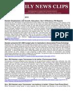 Tues., Jan. 31 News Summary