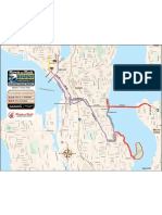 2012 Rock 'N' Roll Seattle Marathon Map