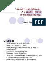Assembly Line Balancing