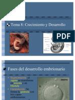 Desarrollo Embrionarío