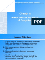 Chapter 01 Introduction to the World of Computers