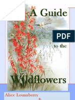 Lounsberry Alice & Ellis Rowan_A Guide to the Wildflowers