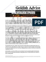 Altos Gold'ish WoW Guide