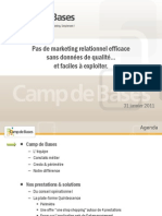 Présentation de Camp de Bases 2012-01-31