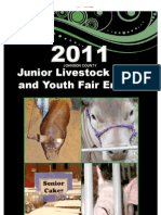 2011 Johnson County Junior Livestock Show and Youth Fair entries