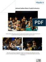 Samyo is the National Indian Music Youth Orchestra