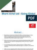 Bharti Airtel Going Global Tmp