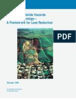 Usgs - National Landslide Hazards Mitigation Strategy