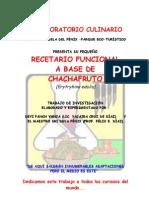Recetario Del Chachafruto