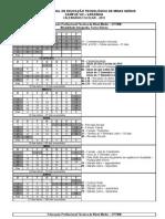 Calendário Campus VIII - Varginha 2012 - Revisado nov-11