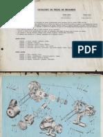 Manual Despiece Vespa 200dn