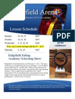 Ridgefield's 2012 February newsletter