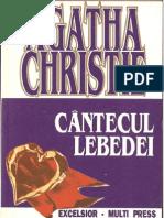 Agatha Christie- Cantecul Lebedei- Povestiri