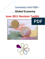 OCR F585 Global Economy June 2011 Toolkit