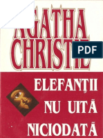 Agatha Christie- Elefantii Nu Uita Niciodata