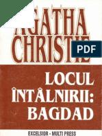 Agatha Christie- Locul Intalnirii Bagdad