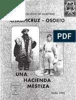 Chaupicruz - Osorio - Una Hacienda Mestiza    http://www.identidad.ccd.ec/  best books of america.