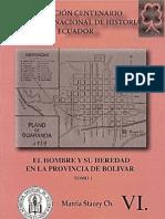 El Hombre y Su Heredad Frente a La Provincia de Bolivar    best books of america.