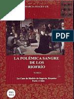 La Polémica Sangre de los Riofrío Tomo 1   http://www.identidad.ccd.ec/   best books of america.