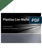 Plastias Inguinales Con Mallas Protesicas