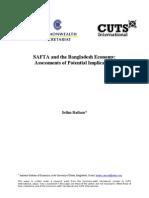 SAFTA and Bangladesh