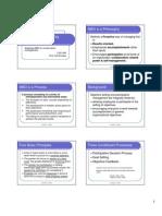 Mbo Goal Achievement Framework
