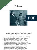 Jazz History 7