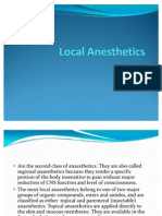 Local Anesthetics(Slide Show)