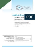 XII Análisis de coyuntura latinoamericana oct-dic 2011